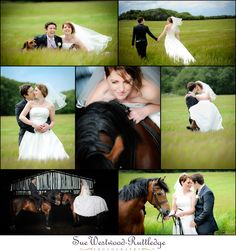 Ben & Sarah's Wedding Horse Shoot in Sale, Cheshire, UK | Sue Westwood-Ruttledge photography