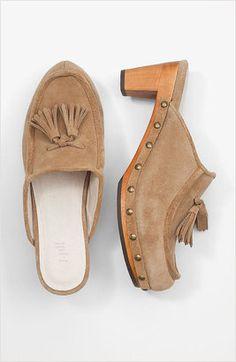ShopStyle: J. JillSuede tassel clogs #shoes