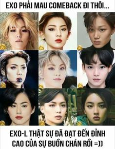 >>> Xiumin, Chen, Baekhyun and Chanyeol seem to be beautiful no matter what they are. And am i the only one who thinks Sehun kinda looks like Scarlet Johanson? Exo Ot12, Kaisoo, Chanbaek, K Pop, Chanyeol Baekhyun, Kim Minseok, Xiuchen, Exo Memes, Kpop Exo