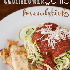 Cauliflower Garlic Breadsticks