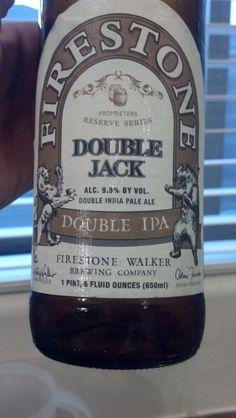 A great double IPA from Firestone Walker.