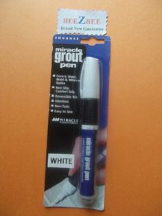Miracle Grout Pen Miracle Sealants,http://www.amazon.com/dp/B00827BIY0/ref=cm_sw_r_pi_dp_G0N5sb1KN9XTTHGK