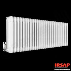 Traditional Column Radiators | White Irsap Tesi Horizontal | 5 Column | 500h x 1149w mm
