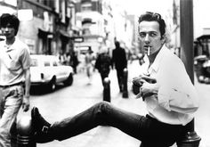 """People can change anything they want to, and that means everything in the world."" Joe Strummer."