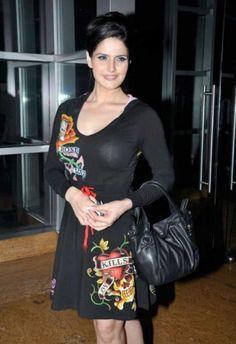 Hot Blacky Zarine khan