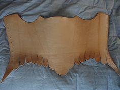 DIY Leather Corset