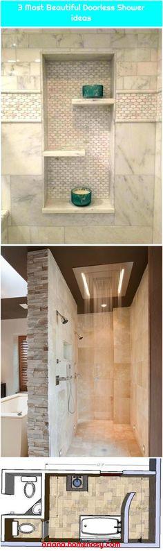 3 Most Beautiful Doorless Shower ideas - Modern Bathroom Tub Shower, Bathtub, Most Beautiful, Vanity, Sinks, Shower Ideas, Modern, Flow, Standing Bath