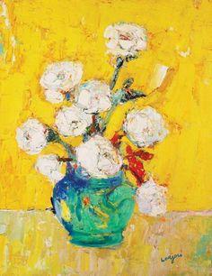Blog of an Art Admirer: Bernard Lorjou (1908-1986) French Expressionist Painter