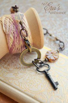 An antique skeleton key bracelet!  NEW! ~ Calm  Collected