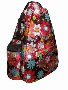 Festive Floral Small Sling, found at Life Is Tennis!