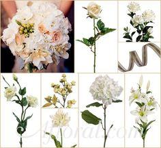 #vintage wedding #cream wedding #afloral shop wedding flowers and wedding decorations www.afloral.com
