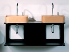 This wall mount shelf is a sleek, modern addition to any bathroom. From Whitehaus Collection
