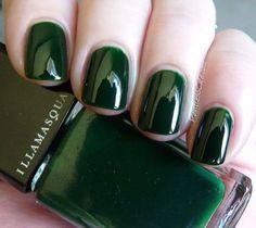 modern nails 5 best Page 5 of 5 Nageldesign Nail Art Nagellack Nail Polish Nailart Nails Trendy Nails, Cute Nails, Hair And Nails, My Nails, Manicure Y Pedicure, Pedicure Ideas, Nail Polish Colors, Dark Green Nail Polish, Dark Green Nails