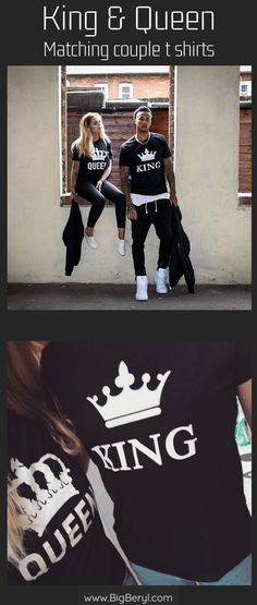 Best King Queen Shirts matching couple outfits for men  amp  women!! King  and 868018185