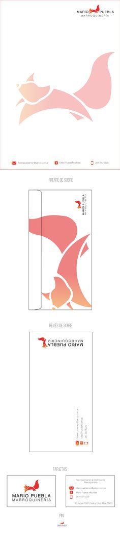 Algunas sencillas aplicaciones de la marca: Papel Carga A4 Sobre (Frente y Revés) Tarjetas Personales Pin