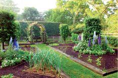 Garden Kitchen : Kitchen Garden Designs