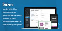 WooCommerce Events v1.1.10 Nulled Free