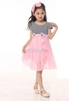 $7.70 New Baby Girls Kids Summer  Dress 6-12 Years