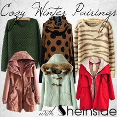 Cozy Winter Sweater & Coat Pairings