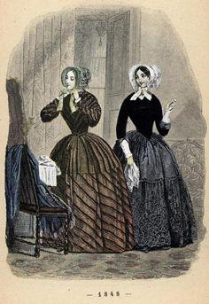 A Siecle De Modes Feminines 1848