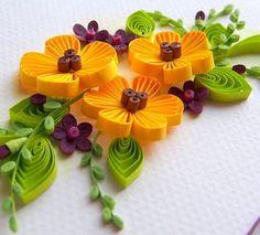 New #yellow and #violet #spring #quilling #bouquet is on its way to new owner.  I like this #quillingproject very mucj! _____________________ Новый желто-фиолетовый #букет уже в пути. Очень мне полюбился! Фиолетовый на самом деле не фиолетовый, а ежевичный и к нему не так просто было подобрать #цвет. #квиллинг #цветыизбумаги #бумажнаяфилигрань #бумажнаяфлористика