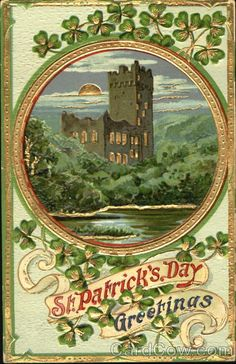 St. Patrick's Day Greetings Series 0581