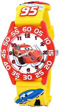 "Disney Kids' W001509 ""Time Teacher"" 3D Cars Watch with Yellow Plastic Band Disney http://www.amazon.com/dp/B00IWTS3CS/ref=cm_sw_r_pi_dp_MCQAub0SKYRZX"