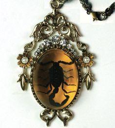 Victorian Trading Company Scorpion Amulet