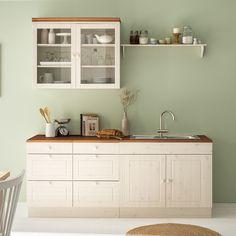 Lillehammer, Küchen Design, House Design, Interior Design, Diy Kids Kitchen, Galley Kitchen Design, Interior Windows, Living Room Color Schemes, Kitchenette