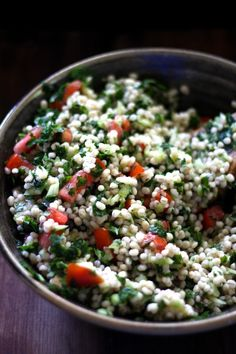 This Rawsome Vegan Life: FRESH TABBOULEH with PEARL BARLEY
