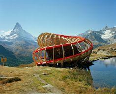 Spiraling Observatory in Switzerland – Fubiz™