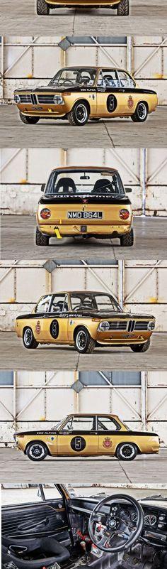 1972 BMW 2002 #bmwclassiccars
