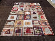 "Patchwork Rug,9""x6,5"" Feet 277x191 Cm Modern Home Decor Turkish Kilim rug Patchwork,Living Room Floor Decor Handmade Kilim Patchwork Rug."