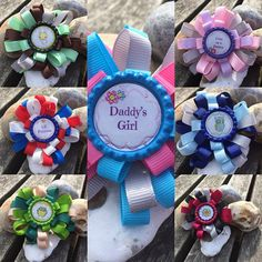Loopy Hair Bows, Flower Loop Bow, Funky Loopy Bows, Flower Bow, Girls Hair Bow, Handmade Loopy Bow Stack, Loopy Puff Bow, Bottlecap Bows, #sunnydazestudio #bexhill #loopybows #hairbows #crafts #handmade