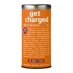 get charged® - No. 3 Herb Tea for Energy | The Republic of Tea