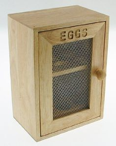 Stylish Wooden Egg Holder Cabinet Cupboard - Storage Rack: Amazon.co.uk: Kitchen & Home