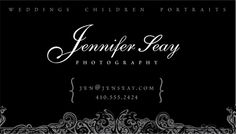 Inspiring Collection of Photography Business Cards - 121Clicks.com