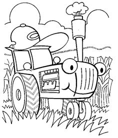 John Deere Coloring Pages: Here are some coloring pictures of john deere tractors, which will sure engage your little one for hours!