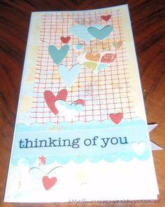 "Tarjeta ""Thinking of You"""