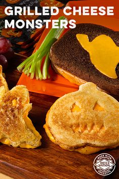 Dietz & Watson Grilled Cheese Ghouls is an easy recipe and a delightfully spooky way to kick off your Halloween adventures.