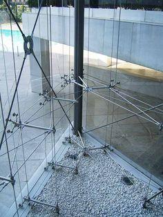5-Star Hilton Hotel Building Façades - Tension Rod Spider Glass | GLASSCON GmbH…