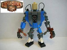 Qui n'a jamais joué au Lego ? Alors qui ? Ok je pense que tout le monde y a joué au moins une fois dans sa vie ! Et bien voici une édition un peu spéciale puisqu'il s'agit d'une version BioShock Infinite, enjoy': Comment les trouvez-vous ? Sympa ou pas ? #lego #bioshock