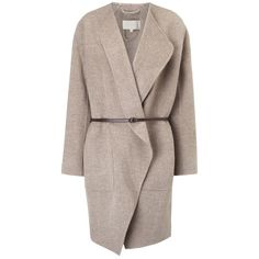 It happens to you every Winter: temperatures start to dip and you reach into your closet only to discover there is no coat stylish enough or warm enough to Cold Weather Outfits, Warm Outfits, Coat Sale, 2015 Trends, Swing Coats, Vanessa Bruno, Oversized Coat, Grey Leather, Wool Coat