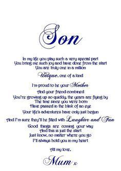 Kids Discover Ideas Birthday Happy Son Quotes From Mom Son Quotes From Mom Mother Son Quotes My Children Quotes Quotes For Kids Beautiful Daughter Quotes Mothers Love Quotes Dad Quotes Family Quotes Wisdom Quotes Son Quotes From Mom, Mother Son Quotes, My Children Quotes, Mommy Quotes, Quotes For Kids, Happy Quotes, Mom Sayings, Dad Quotes, Mother Son Inspirational Quotes
