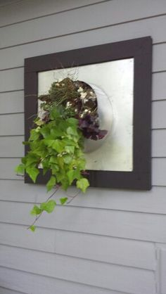 Some would say this is an air duct. I say its a vertical planter Decor, Air Duct, Recycling, Recycle Design, Mirror, Dream Backyard, Home Decor, Vertical