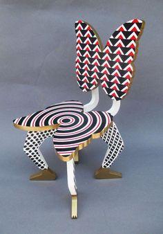 pedro friedeberg | Pedro Friedeberg Sculpture Silkscreen on Wooden, Limited Edition 5/30 ...