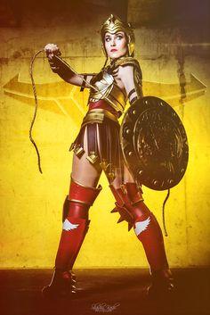 Wonder Woman - DC Comics - Injustice Gods Among Us by ShashinKaihi.deviantart.com on @DeviantArt