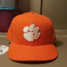 18ce8bef00fb6 Check out what I m selling on Mercari! Clemson Tigers Orange New Era 5950  Cap
