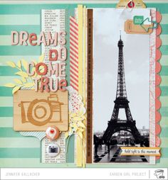 In-site-full: Make It Meaningful #7 Scrapbook Process Video: Dreams Do Come True