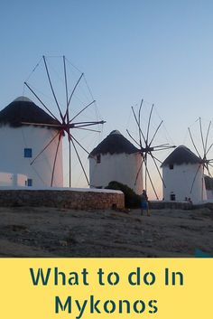 What to do on your holidays to Mykonos!